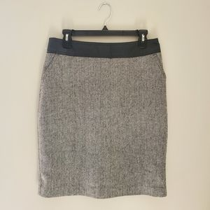 Worthington Grey Pencil Skirt